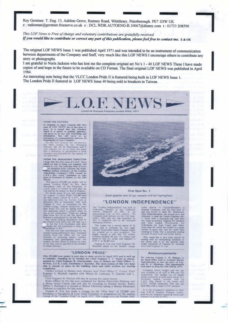 LOF Printed News 2003 - Page 8